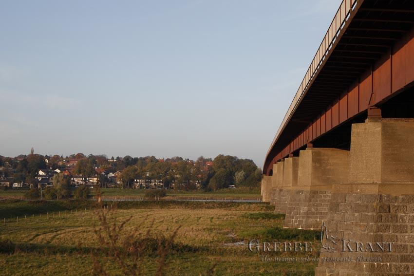 Gaat Stikstof-problematiek de verbreding van de Rijnbrug tegenhouden?