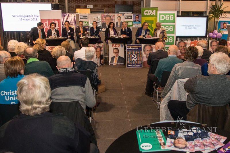 Verkiezingsdebat Rhenen