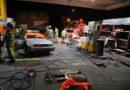 Benzinepomp in Elst toneel grote brandweeroefening