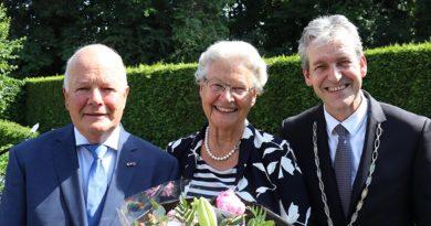 Echtpaar Sloof 50 jaar getrouwd