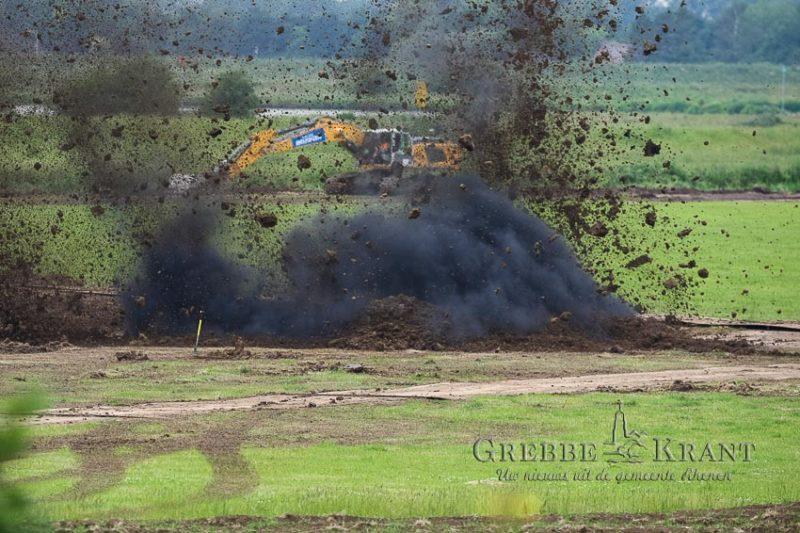 Vliegtuigbom tot ontploffing gebracht