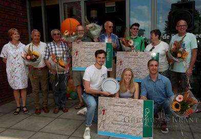 Jongerenraad Rhenen ontvangt Cunera Verenigingswaardering