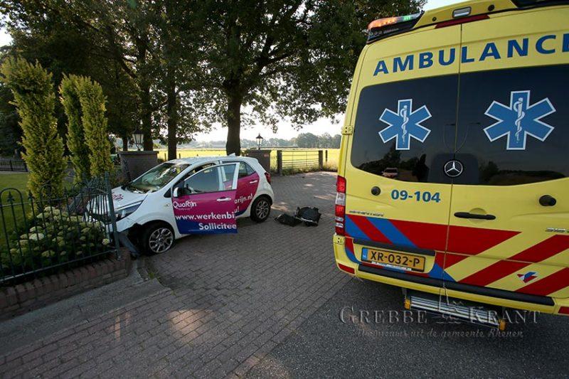 Eenzijdig ongeval Cuneraweg