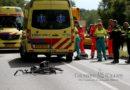 Fietster ernstig gewond bij aanrijding met vrachtwagen