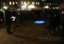 Herdenking bij Holocaustmonument
