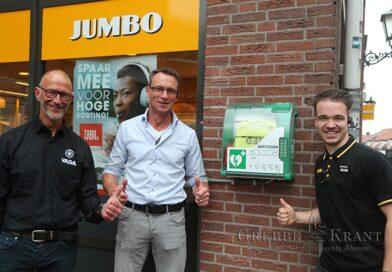 AED van Jumbo 24 uur bereikbaar