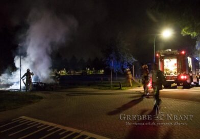 Caravan uitgebrand in Achterberg