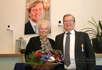 Koninklijke Onderscheiding voor de heer Teus Brouwer